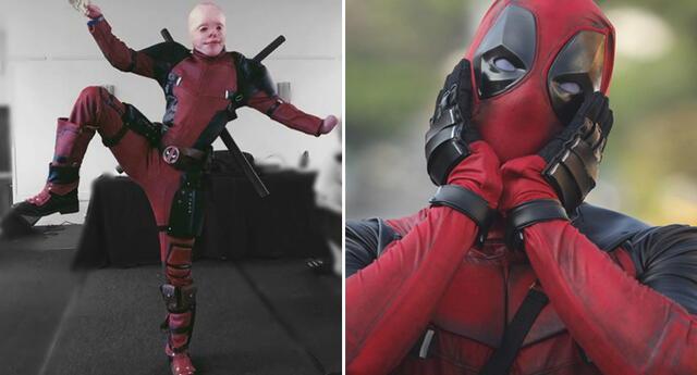 El Deadpool de la vida real: Sobreviviente de quemaduras es felicitado por Ryan Reynolds