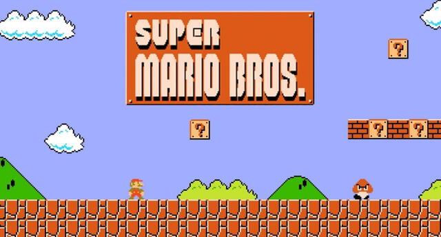 Hoy se cumplen 35 años del lanzamiento de Super Mario Bros y así los celebramos.   Fuente: Nintendo.