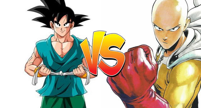 Dragon Ball vs One Punch Man : Autor responde quien ganaría entre Goku y Saitama