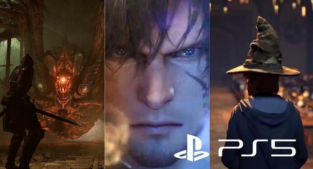 Esta es la lista de los anuncios revelados por PlayStation en su evento digital. | Fuente: Composición.