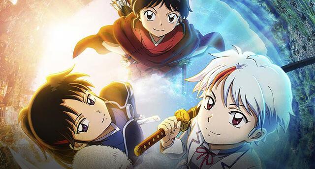 Hanyo no Yashahime: Nuevo póster para el anime, descárgalo aquí