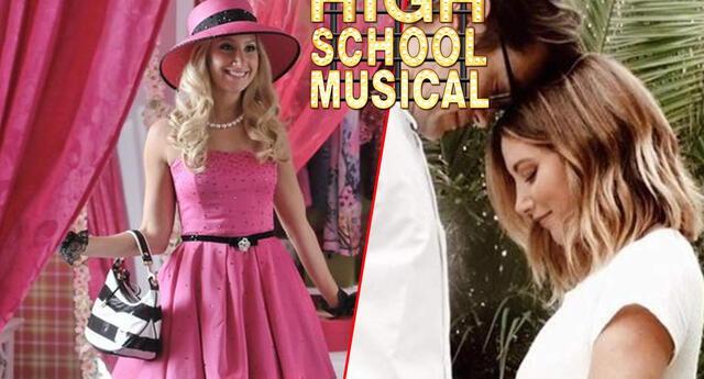 Ashley Tisdale, Sharpay de Highschool Musical, está embarazada ¿quién es el padre?