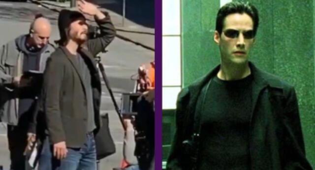 "Matrix 4: Keanu Reeves afirma que la cuarta película es una ""historia de amor muy inspiradora"""
