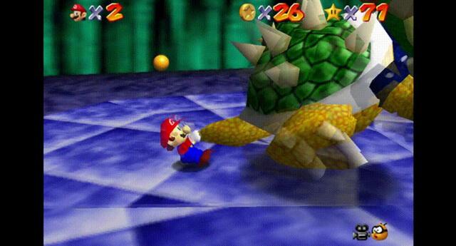 La polémica frase So long, King Bowser no está incluida en la versión de Super Mario 64 para el título recopilatorio. | Fuente: Nintendo.