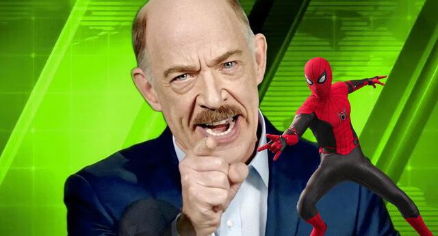 Spiderman: El actor de Jonah Jameson confiesa por qué salió calvo al final de