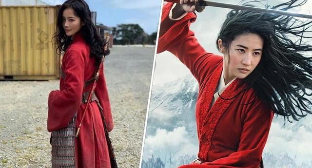 Liu Yaxi: La doble de Mulán que enamoró a los usuarios en las redes sociales (FOTOS)