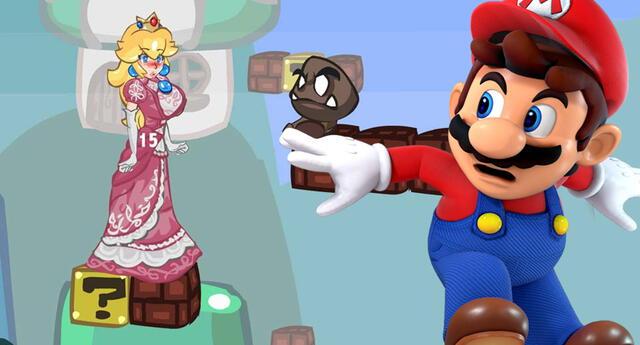 Nintendo prohíbe un juego para adultos basado en la Princesa Peach