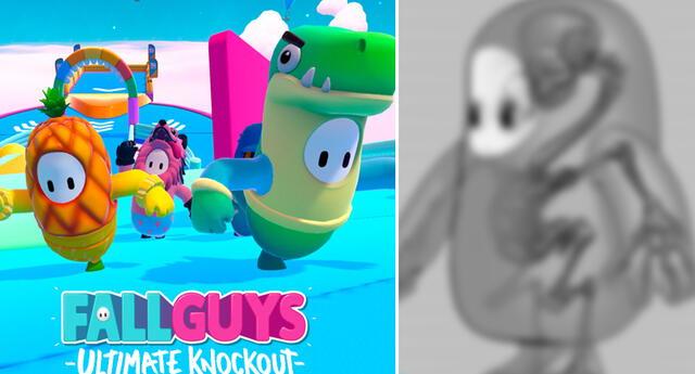 Así es la anatomía de los personajes de Fall Guys