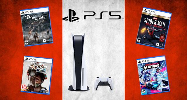 Los videojuegos para PlayStation 5 tendrán un recargo de hasta S/. 100 en su precio en Perú. | Fuente: Composición.