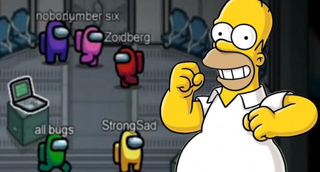 ¿Los Simpson predijeron Among Us?