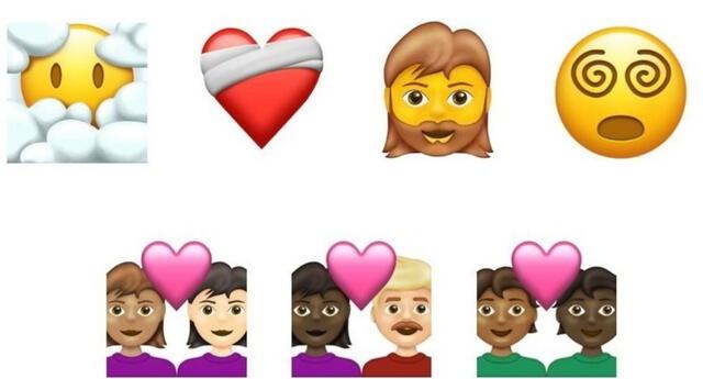El Consorcio Unicode ha presentado los emojis que se añadirán a su colección en 2021.   Fuente:  Unicode.
