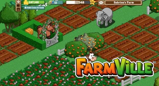 FarmVille, uno de los videojuegos más populares de Facebook, finalmente cerrará sus puertas a fin de año.   Fuente: Zynga.