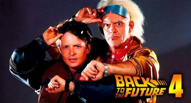 ¿Es posible que se estrene 'Volver al futuro 4'? Actores revelan el futuro de esta película