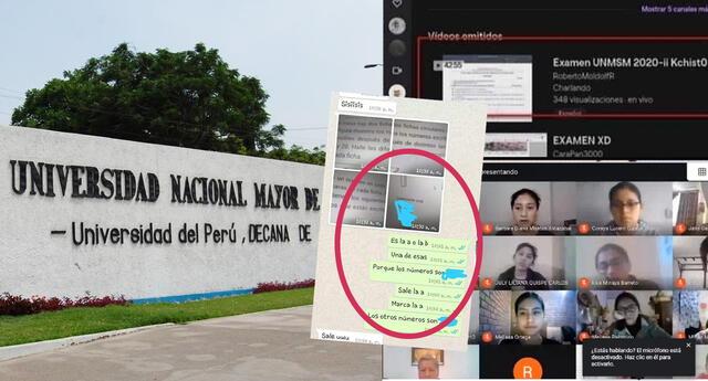 Examen de Admisión de San Marcos fue transmitido y filtrado en vivo por redes sociales