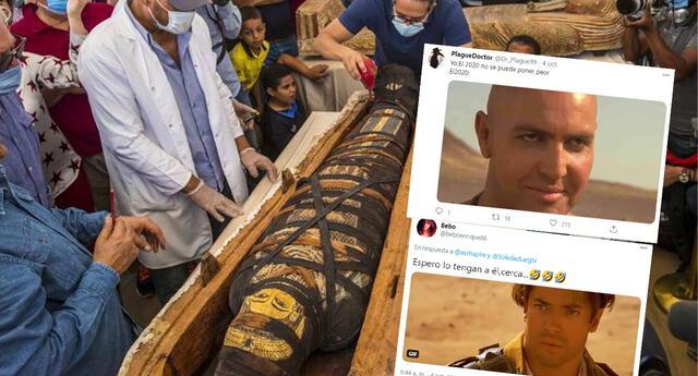 (Vídeo) Abren sarcófago egipcio con 2600 años de antigüedad y así reaccionan las redes