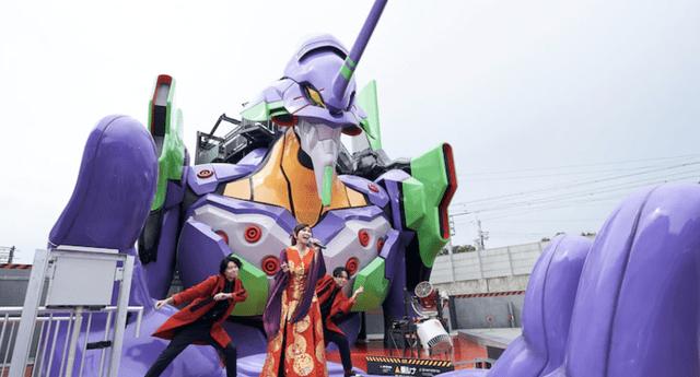 Neon Genesis Evangelion sorprende a los fanáticos con una gran inauguración de su Base en Kioto (Video)
