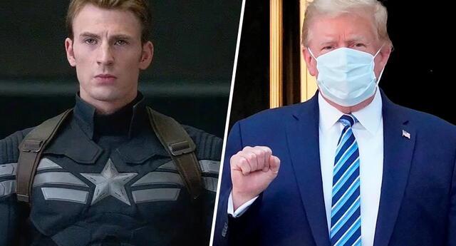 El 'Capitán América' critica a Donald Trump por decir que 'no hay que temerle al COVID-19'