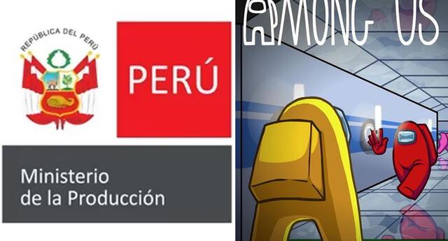 El Ministerio de la Producción del Perú usó propaganda basada en Among Us