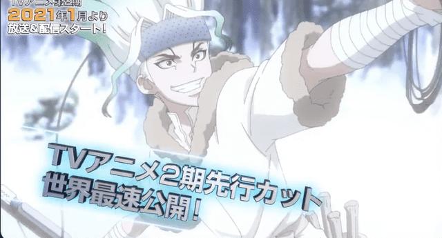 Dr. Stone lanza un nuevo tráiler de su segunda temporada de anime (Video)