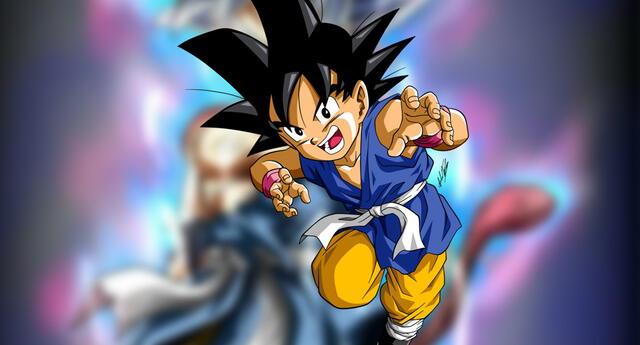 Dragon Ball GT : Así se ve Goku