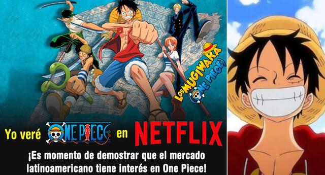 Crean campaña para ver One Piece en Netflix y apoyar el anime.