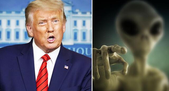 Donald Trump cree que el ejército de EEUU puede derrotar a los aliens.
