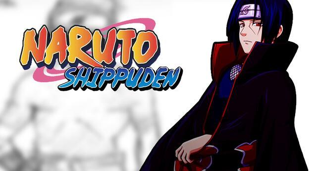 Conoce el diseño original de Itachi Uchiha en Naruto Shippuden.
