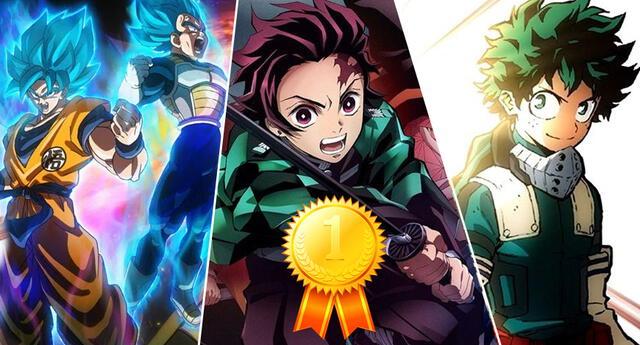 Kimetsu no Yaiba es el estreno animado más taquillero de Japón.