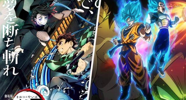 Kimetsu no Yaiba: Infinity Train recaudó más taquilla en 3 días, que Dragon Ball Super: Broly en meses