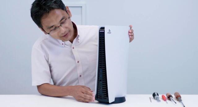 Yasuhiro Ootori, ingeniero a cargo del diseño de PS5, reveló que la ventilación de la consola seguirá mejorándose después de su lanzamiento./Fuente: Sony PlayStation.