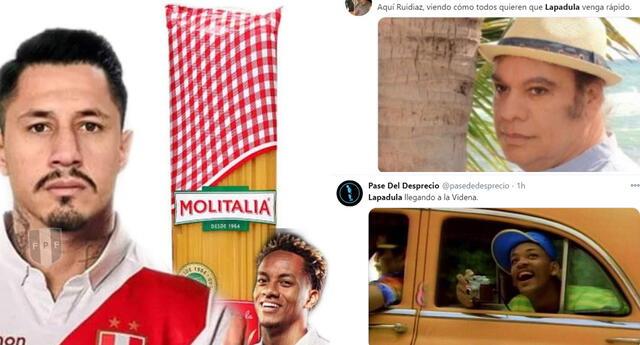 Lapadula : Lluvia de memes tras conocerse que futbolista saca su DNI peruano