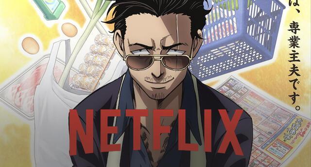 El anime de un Yakuza amo de casa llegará a Netflix el próximo año
