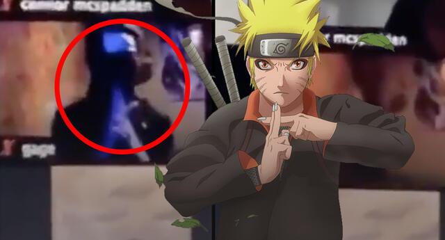 Alumno hace técnica de Naruto para desaparecer de sus clases virtuales
