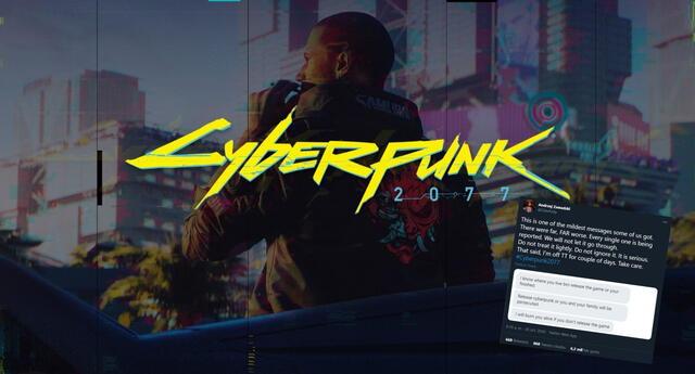 Andrzej Zawadzki, veterano de CD Projekt Red, denunció que el equipo detrás de Cyberpunk 2077 está recibiendo amenazas de muerte constantes de jugadores enojados./Fuente: CD Projekt Red.