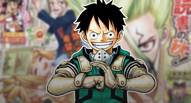 Weekly Shonen Jump TOC: One Piece sigue sin conseguir el primer lugar en el ranking