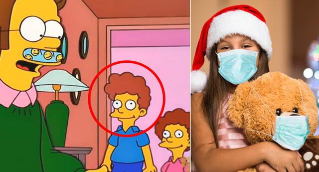 Los Simpson y sus 'predicciones' para esta navidad.