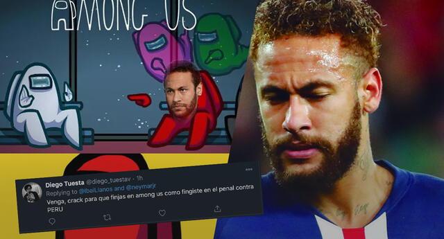 Invitan a Neymar a jugar Among Us, fans lo trolean por