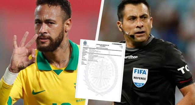 Una Asociación de Abogados peruana denuncia a Julio Bascuñan y Neymar  por fingir penal