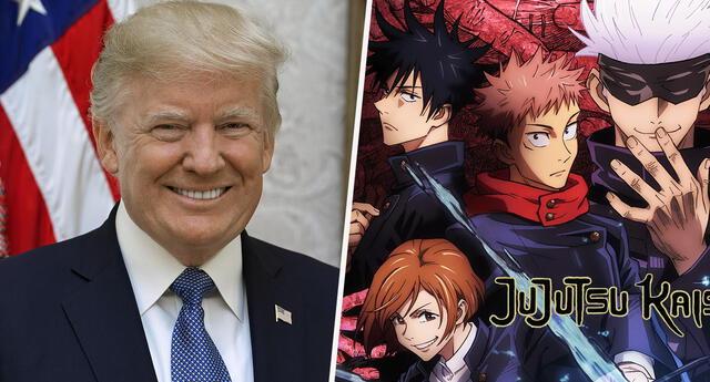 Jujutsu Kaisen: Donald Trump apareció en escena del nuevo anime sensación