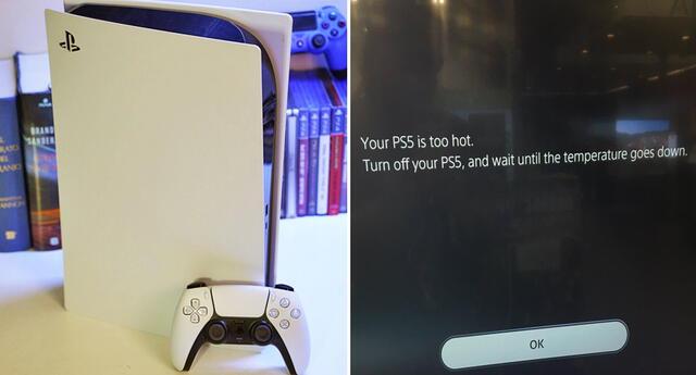 ¿La PlayStation 5 se sobrecalienta?