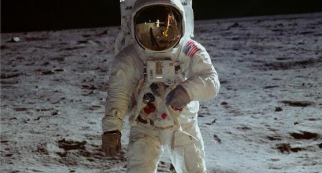 Una fotografía inédita de la misión Apollo 11 está siendo subastada por miles de dólares./Fuente: NASA.