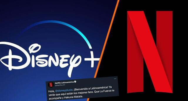 Disney Plus llegó a Latinoamérica y Netflix le dio este mensaje de bienvenida