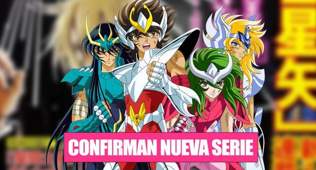 Saint Seiya Meio Iden Dark Wing, el nuevo manga de Los Caballeros del Zodiaco.