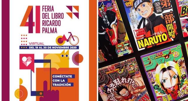 Edición virtual de la 41ª Feria del Libro Ricardo Palma presentará stands de mangas..