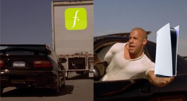 Como si de Toretto y su familia se tratará, un grupo de delincuentes asaltó un camión de Falabella con cargamento de PS5 en Chile, dejando sin sus esperadas consolas a decenas de usuarios./Fuente: Composición.