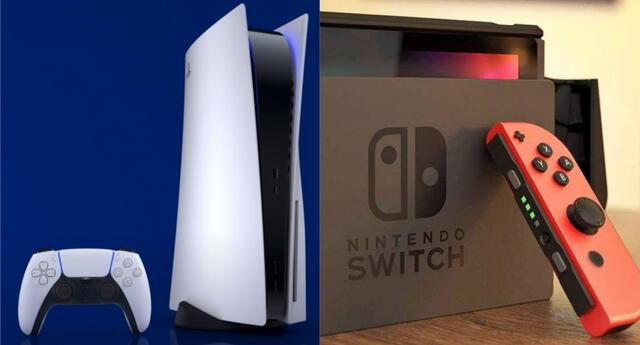 PS5 es el primer competidor que logra superar a la aparentemente imbatible Nintendo Switch en Japón./Fuente: Composición.