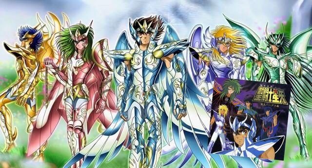El tema Shine On nunca fue incluído en el anime, pero sí en un album recopilatorio de la banda sonora compuesta para la Saga de Hades en los 90./Fuente: TOEI Animation.