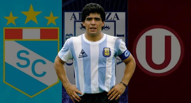 Los clubes de la Liga Perú y otras personalidades del ámbito futbolístico se despidieron de Diego Armando Maradona por las redes sociales./Fuente: Composición.