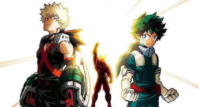 My Hero Academia 2 Heroes Rising se estrenará en Latinoamérica pero no en Perú