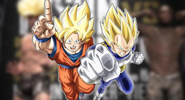 Dragon Ball : Jake Paul se disfraza de Goku Super Saiyan para su pelea de boxeo